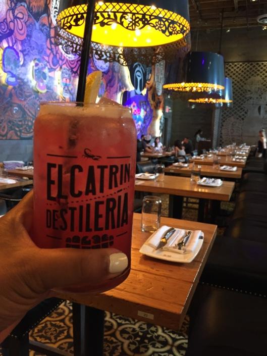 Hibiscus Rose cocktail