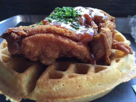 Dirty Bird Chicken and Waffles