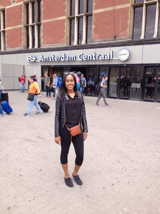 Finding her way in the Netherlands