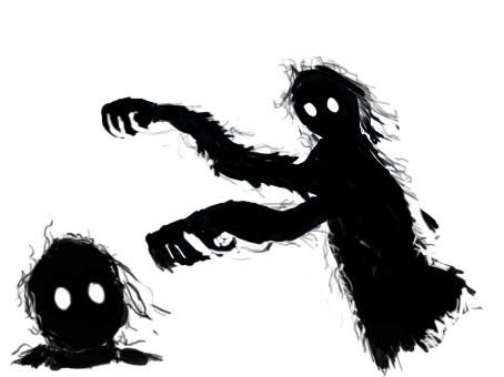 Beware of shadowy creatures at night