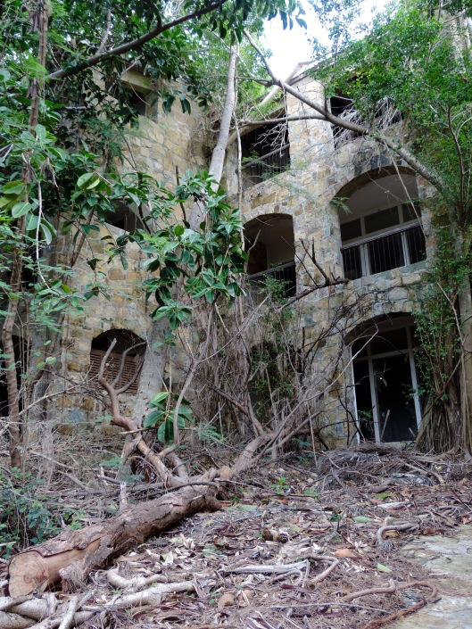 Part of the abandoned Belle Creole