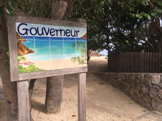 Entrance to Gouverneur Beach