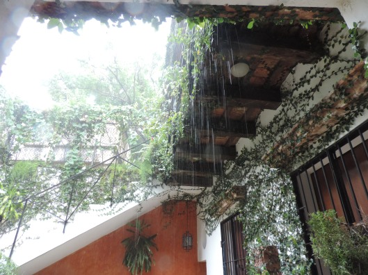 Rainy day in La Zona
