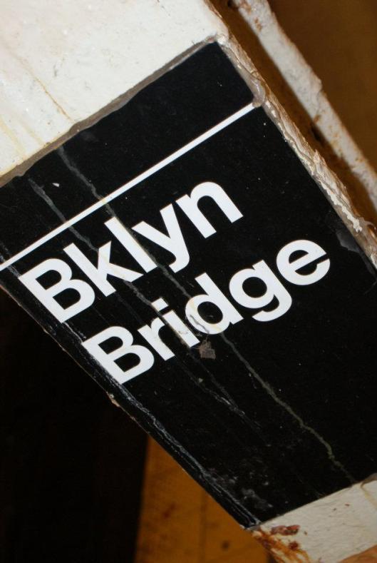 Brooklyn Bridge metro stop