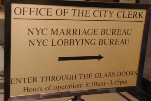To the Marriage Bureau