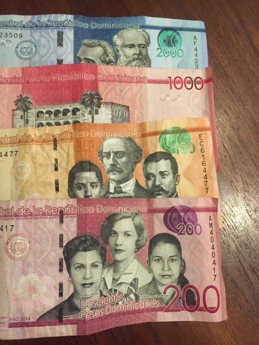 The Dominican peso