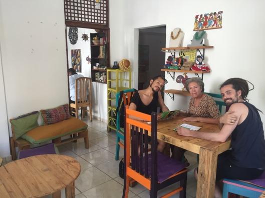 Irie Lion Rastafarian Restaurant in Santo Domingo