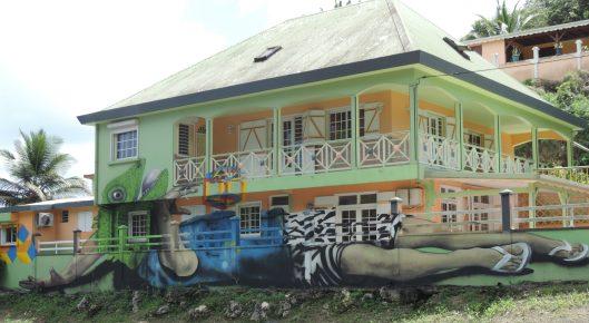 Guadeloupe Murals