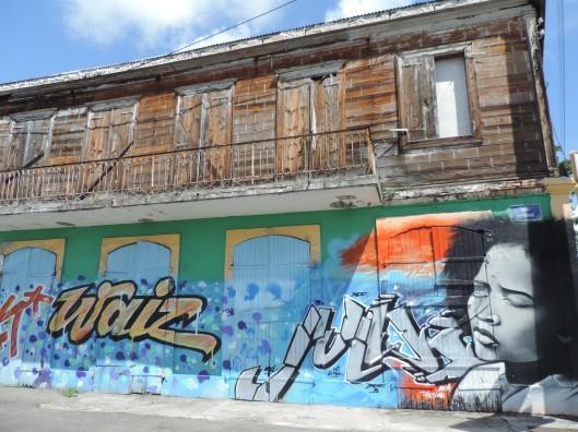 Street art in Pointe a Pitre