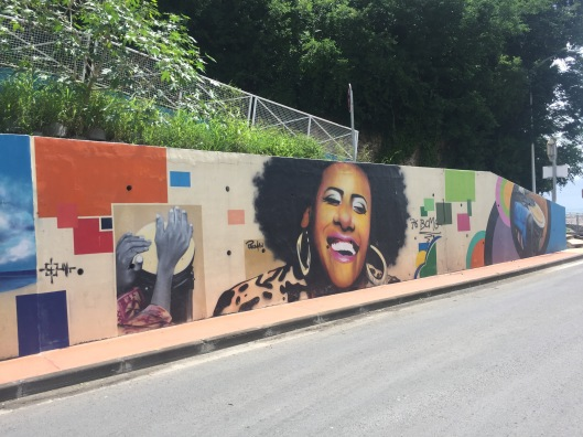 Street art in Saint Ann Guadeloupe