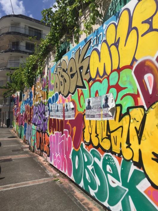 Street art in Guadeloupe